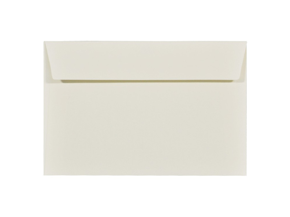 Acquerello textured envelope 100g - C6, Avorio, cream
