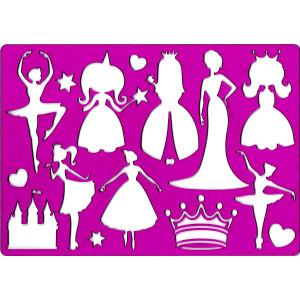 Szablon do rysowania KOH-I-NOOR - Księżniczka