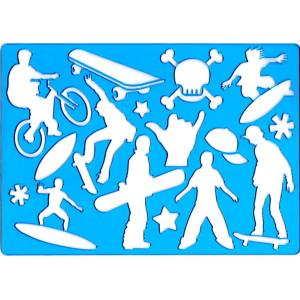 Szablon do rysowania KOH-I-NOOR - Sport