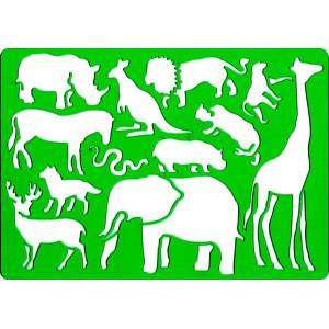 Szablon do rysowania KOH-I-NOOR - Safari