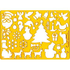 Szablon do rysowania KOH-I-NOOR - Boże Narodzenie