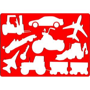 Szablon do rysowania KOH-I-NOOR - Pojazdy