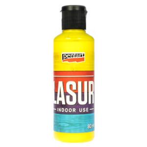 Bejca Pentart Lasur 80 ml żółć