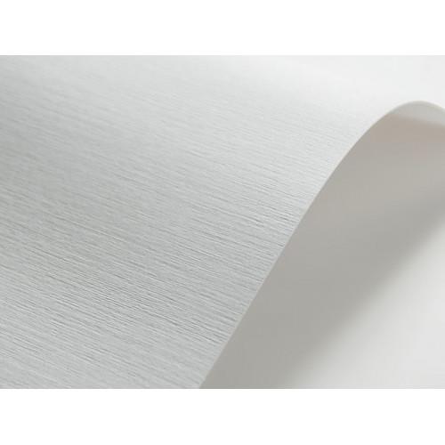 Papier ozdobny Elfenbens - Tkanina lniana (203) 246g biały