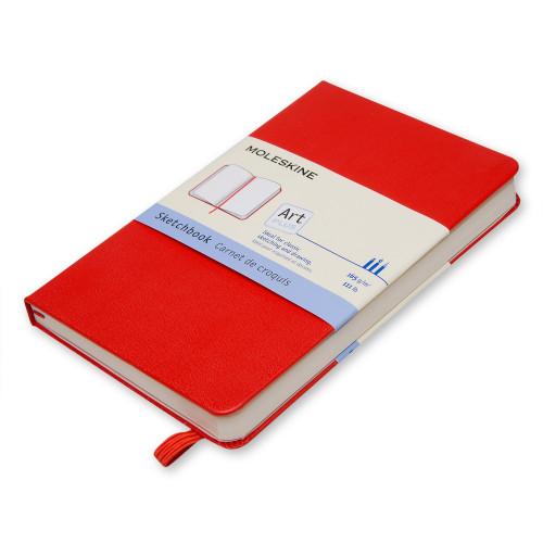 Szkicownik Moleskine - Red Hard Pocket