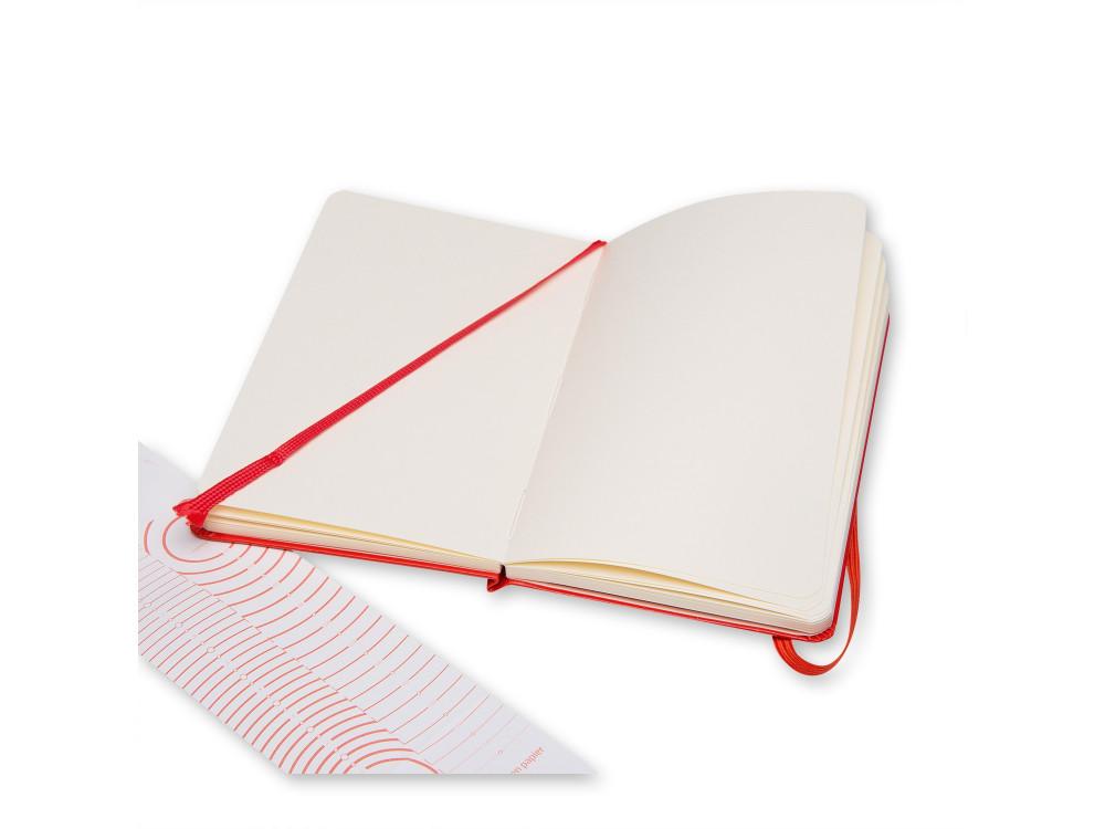 Sketchbook - Moleskine - hard, pocket, red