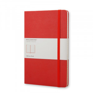 Adresownik Moleskine - Address Book - Red Large