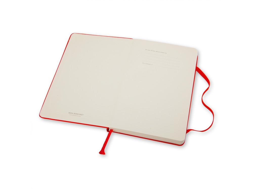 Ruled Red Notebook - Hard - Large - Moleskine