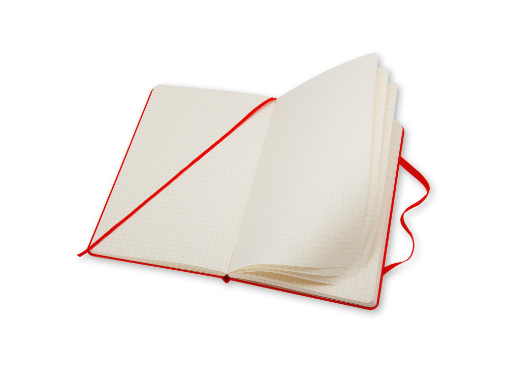 Squared Red Notebook - Hard - Large - Moleskine