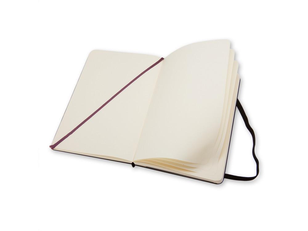 Notatnik gładki A5 - Moleskine - czarny, twarda okładka