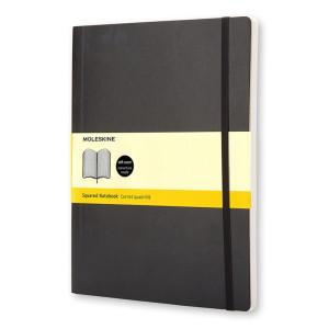 Notatnik Moleskine - Squared soft XL