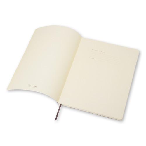 Notatnik Moleskine - Squared Black Soft XL