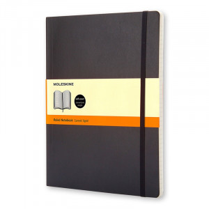 Notatnik Moleskine - Ruled Soft XL