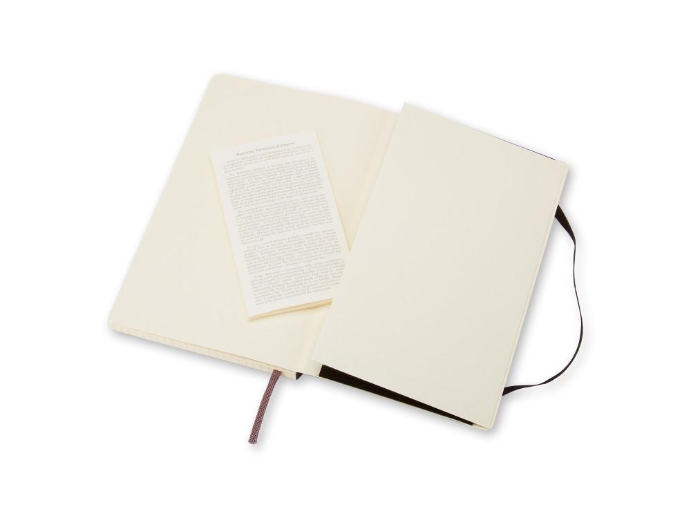 Notatnik w kratkę A6 - Moleskine - czarny, miękka okładka