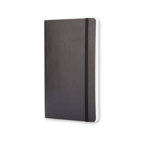 Notatnik Moleskine - Ruled Black Soft Pocket