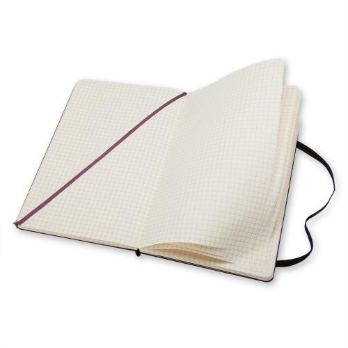 Notatnik Moleskine - Squared Black Hard Pocket