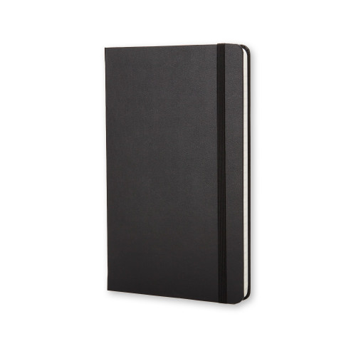 Notatnik Moleskine - Ruled Black Hard Pocket