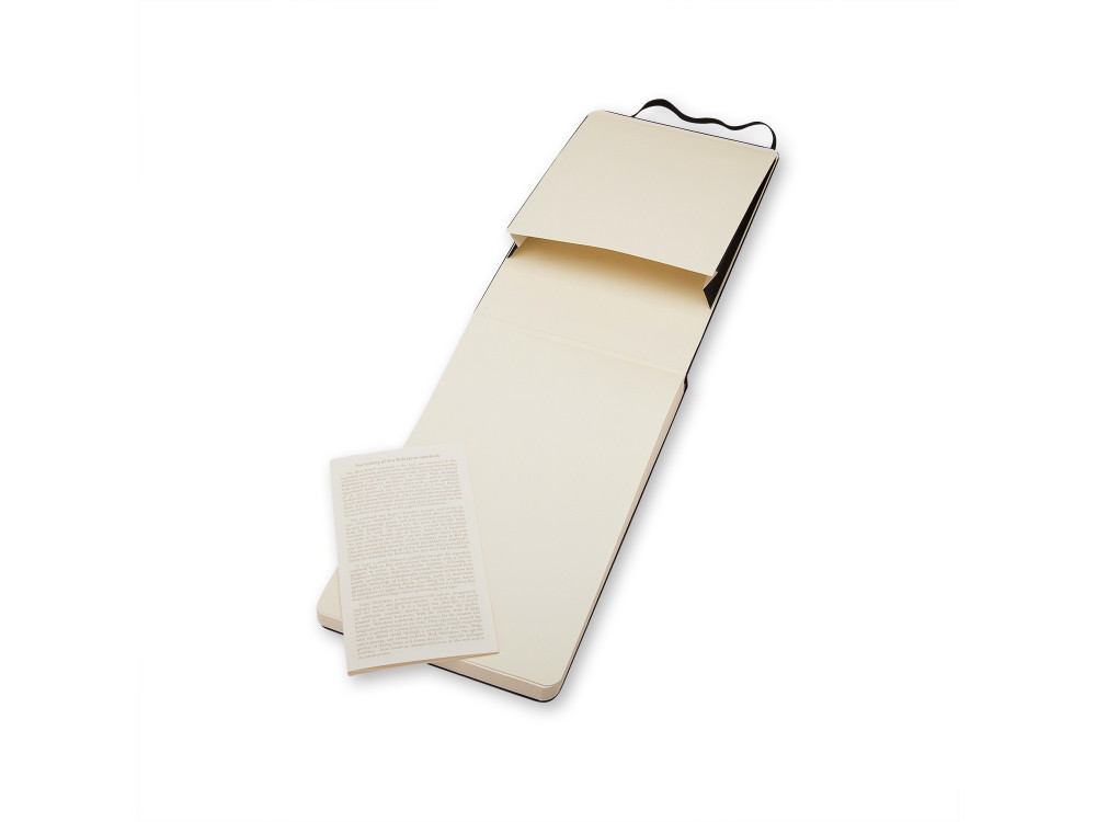 Plain Reporter Notebook - Hard - Pocket - Moleskine