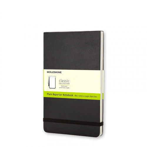Notatnik Moleskine Reporter - Plain Black Hard Pocket