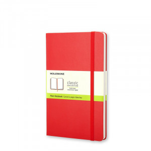 Notatnik Moleskine Plain Red - Pocket