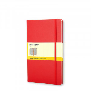 Notatnik Moleskine Squared Red - Pocket