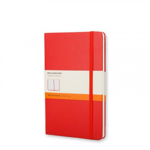 Notatnik Moleskine - Ruled Red Pocket