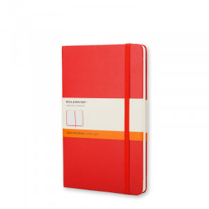 Notatnik Moleskine Ruled Red - Pocket