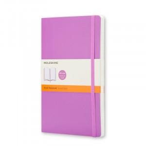Notatnik Moleskine - Ruled Soft Purple Orchid L
