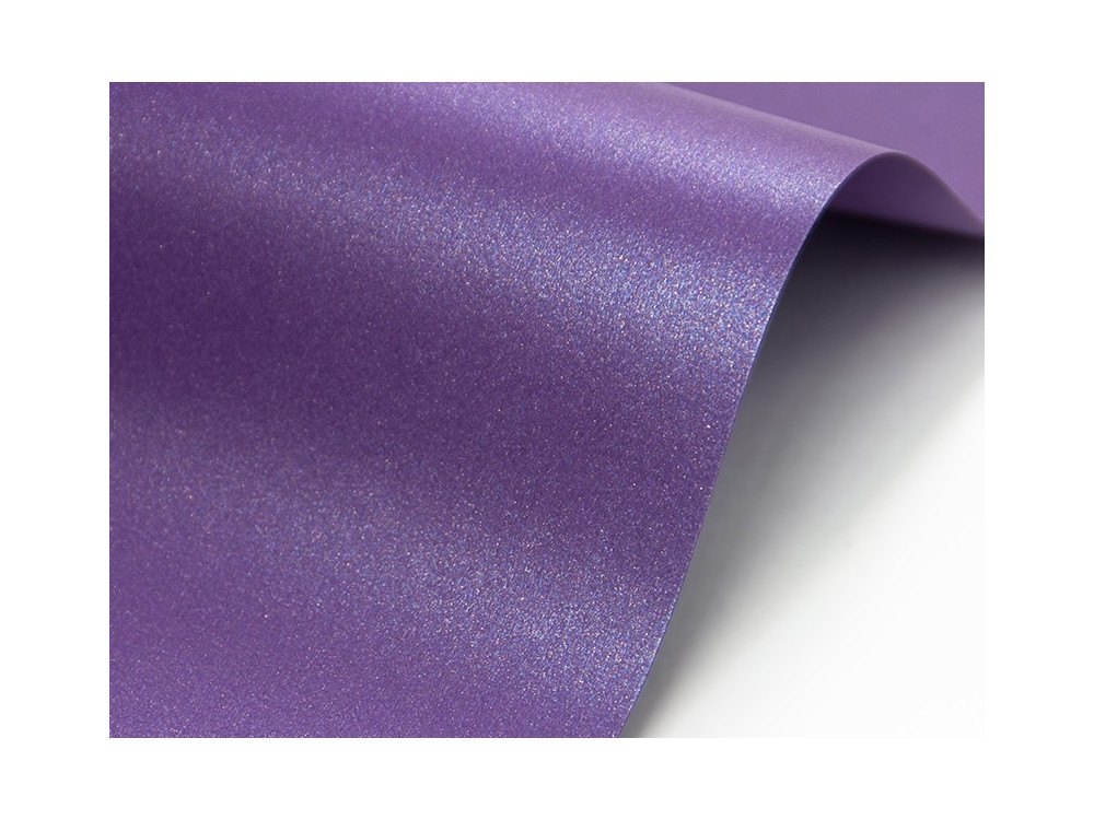 Cocktail paper 120g - Fabriano - purple rain, A4, 20 sheets