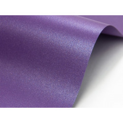 Papier Cocktail 290g - Fabriano - purple rain, fioletowy, A4, 20 ark.