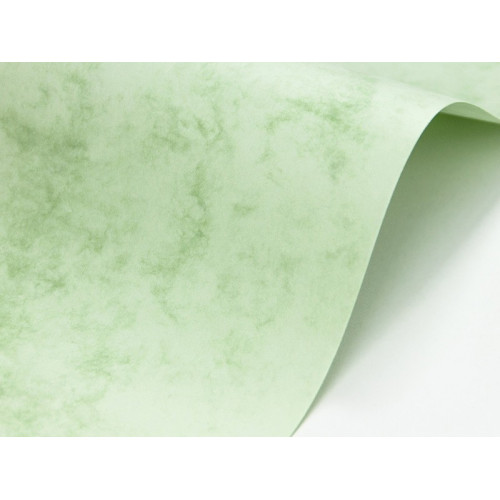 Papier Marble Cover 200g - Delphic Green, zielony, A4, 20 ark.