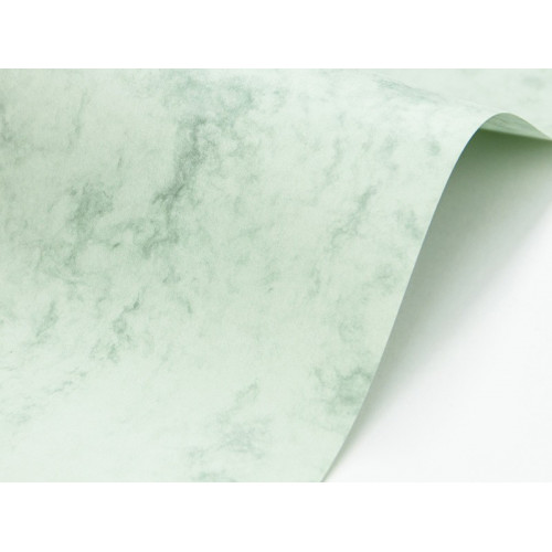 Papier Marble Cover 200g - Corinthian Green, zielony, A4, 20 ark.