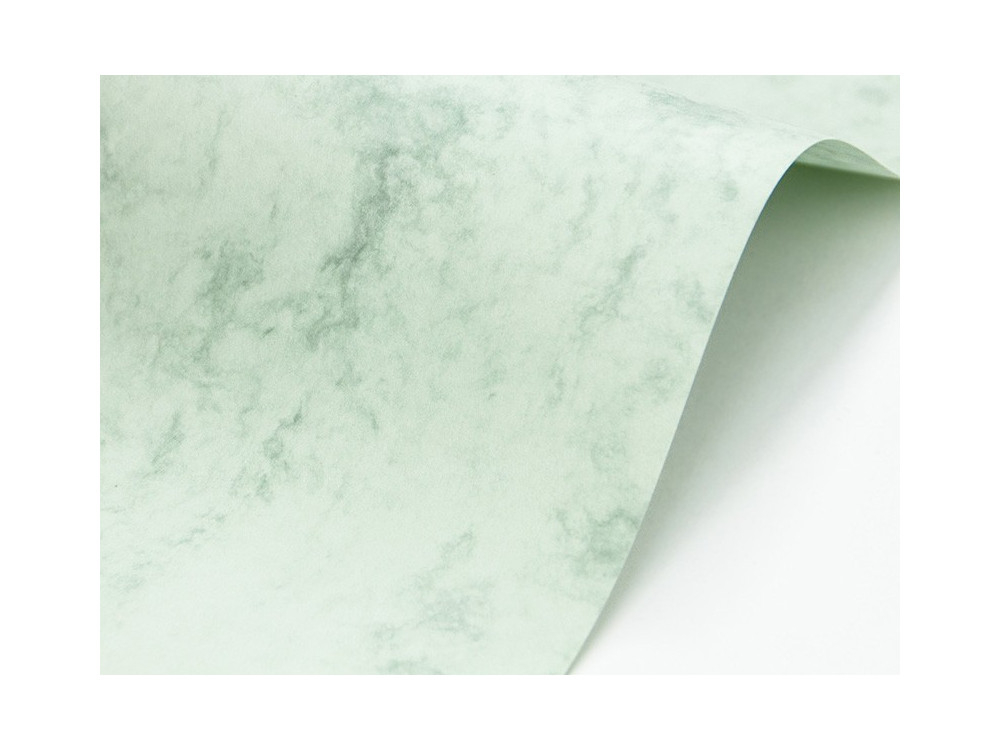 Marble Cover Paper 200g - Corinthian Green, A4, 20 sheets