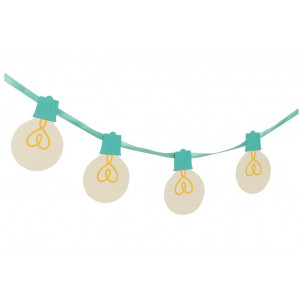 Wykrojnik We R - Light Bulb Garland