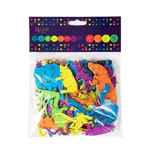 Foam Stickers - Animals 3, 60 pcs