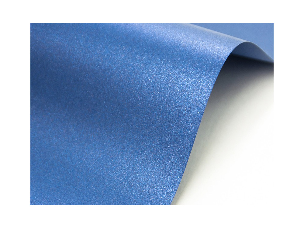 Papier Cocktail 290g - Fabriano - blue angel, niebieski, A4, 20 ark.