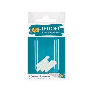 Końcówki do markerów Triton 1-4 mm, 4 szt.