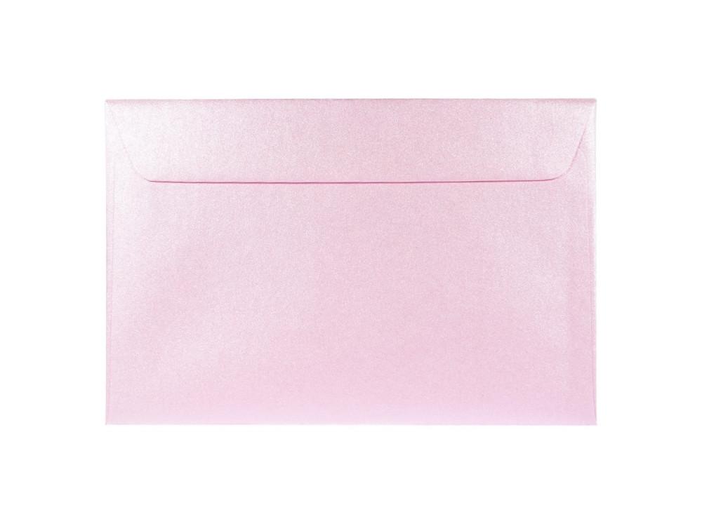 Majestic Pearl Envelope 120g - C6, Petal, light pink
