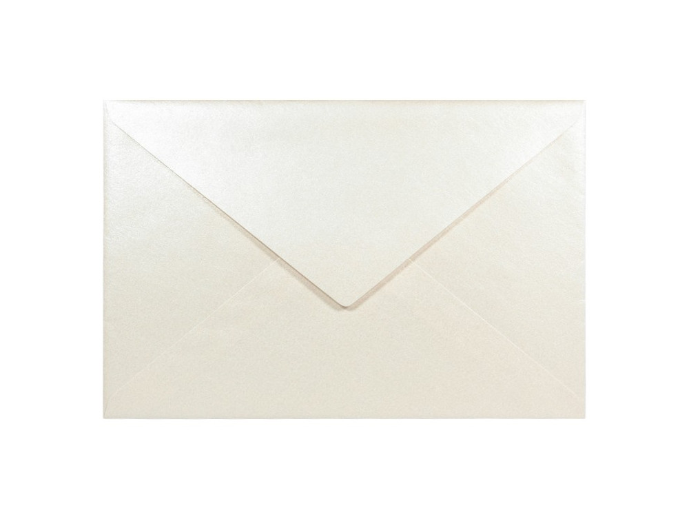 Sirio Pearl Envelope 125g - C6, Oyster Shell, cream