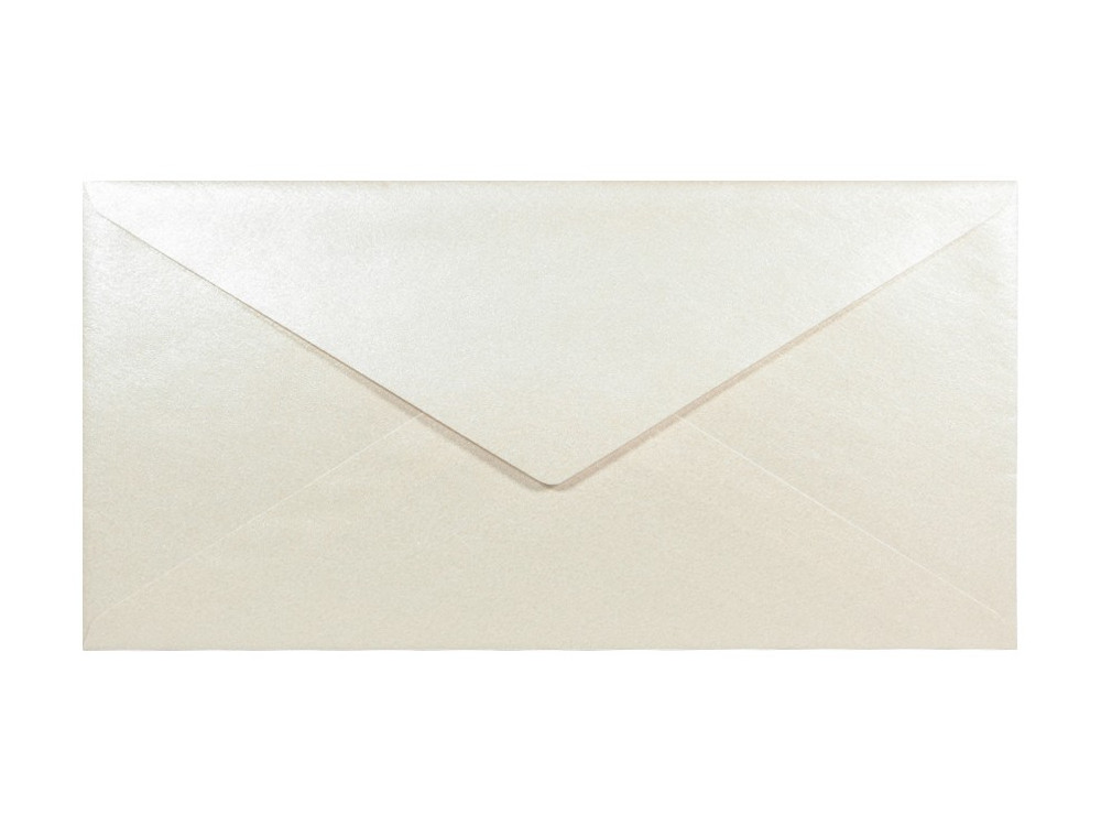 Sirio Pearl Envelope 125g - DL, Oyster Shell, cream