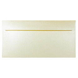 Majestic Pearl Envelope 120g - DL, Candlelight Cream