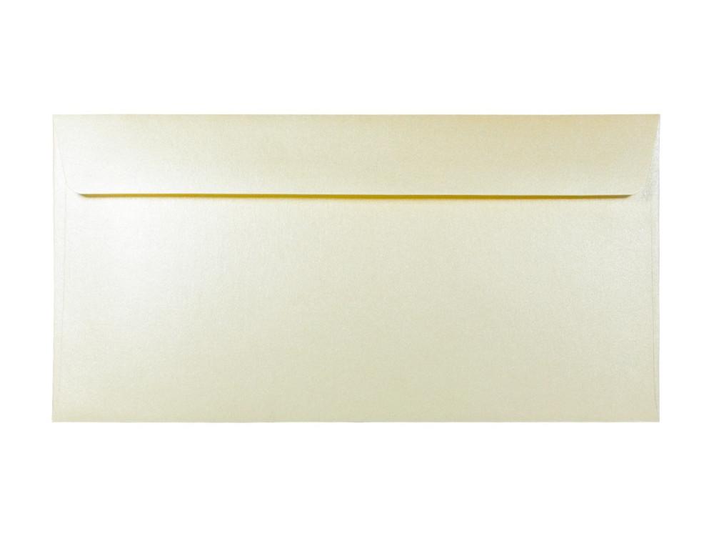 Koperta perłowa Majestic 120g - DL, Candlelight Cream, kremowa