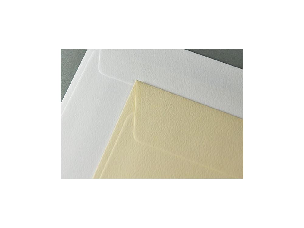 Via Felt textured envelope 120g - DL, white