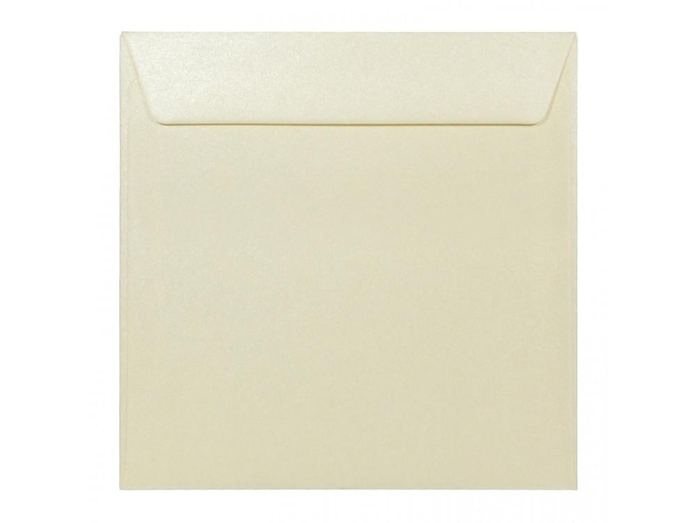 Koperta perłowa Majestic 120g - K4, Candlelight Cream, kremowa