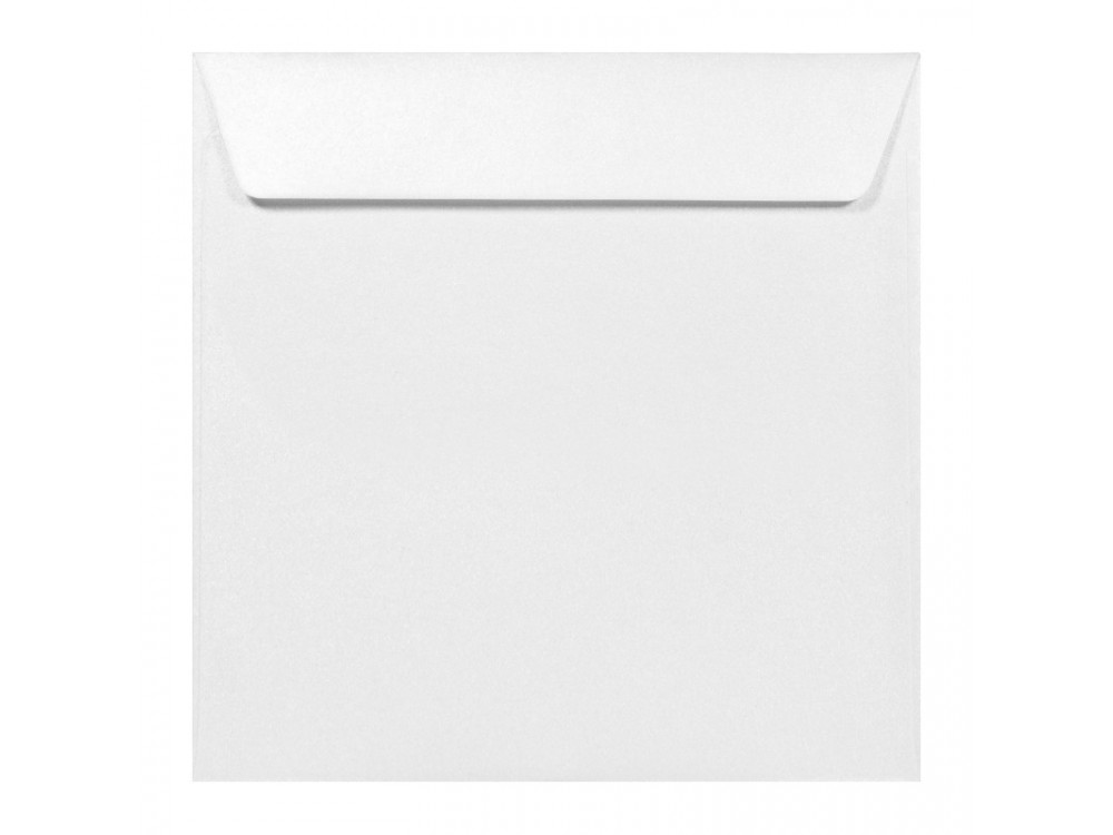 Koperta perłowa Majestic 120g - K4, Marble White, biała
