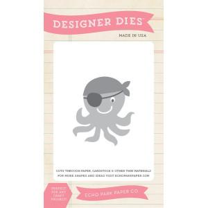 Wykrojniki Echo Park - Pirate's Life - Pirate Octopus