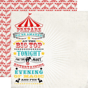 Papier Echo Park - Circus Party - Magic and Fun