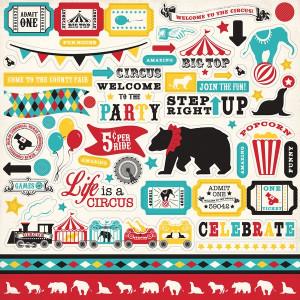 Naklejki Echo Park - Circus Party