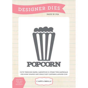 Wykrojniki Echo Park - Circus Party - Popcorn