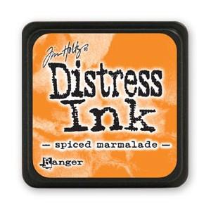 Mini Distress Ink - Poduszka z tuszem - Ranger - Spiced Marmalade